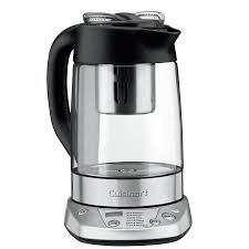 cuisinart programmable electric tea maker kettle 1 2l electric