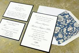 invitations for wedding what is the standard wedding invitation size everafterguide