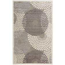 Graphic Area Rugs Nourison Graphic Illusions Grey 7 Ft 9 In X 10 Ft 10 In Area