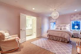 pink and purple bedroom transitional s room