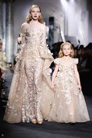 elie saab couture fall 2016 kids on the runway pret a reporter