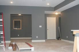 painting bulkheads in basement which is better white on bottom