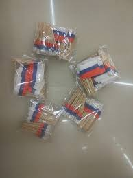 aliexpress com buy mini russian flag 300pcs paper food picks