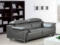 canape en cuir gris canapé cuir pas cher chez la maison du canapé