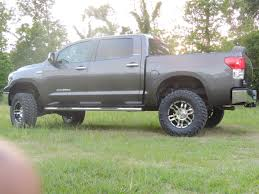 toyota tundra 18 inch wheels toyota tundra with country suspension by truckworks