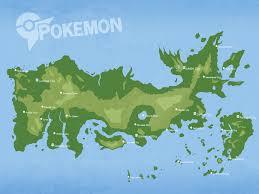 Sinnoh Map Pokemon Fake Map Of All Regions By Caeruleumregium On Deviantart