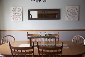 rustic dining room reveal currently kelsie