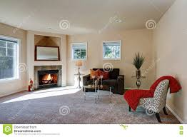 American Living Room Furniture Typical American Living Room Interior Design Stock Photo Image
