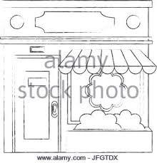 business shop sketch icon stock vector art u0026 illustration vector