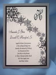 winter themed wedding invitations winter wedding invitation wording vertabox