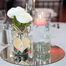 wedding centerpiece mirror 12 diameter table mirrors for