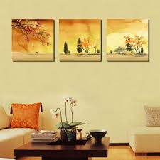 lemon tree art large landscape in autumn picture painting on