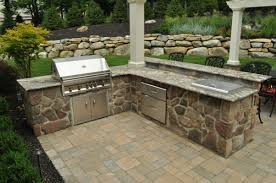 kitchen fresh outdoor kitchen components decor modern on cool