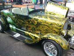 41 best custom paint images on pinterest custom cars custom this airbrush flame job is very creative fading into the mural eagle point high school thomas ussary memorial car show supporting skills usa program