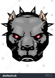 pitbull halloween background pitbull illustration illustrator file stock illustration 44526511