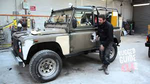 land rover defender 90 convertible land rover defender 90 lhd rebuild start part 1 youtube