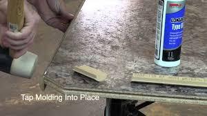 Wilson Art Laminate Flooring Wilsonart Decorative Edges Installation Youtube