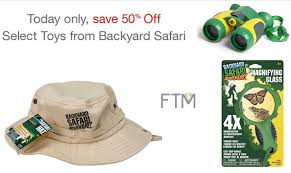 Backyard Safari Binoculars by Backyard Safari Toys As Low As 4 49 Save Up To 50 Ftm