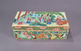 mandarin porcelain export porcelain mandarin pen box dubey s