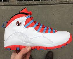 Chicagos Flag Get Up Close With The Upcoming Air Jordan 10 Chicago Flag