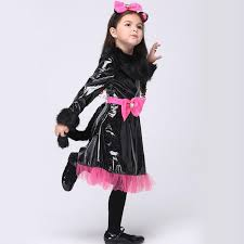 Girls Black Cat Halloween Costume Compare Prices Halloween Catwoman Costume Shopping Buy