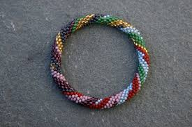 beaded bracelet crochet images Jmm 2010 exhibition sophie sommer susan goldstine and ellie baker jpg