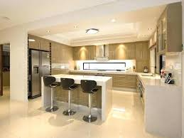 amenagement ilot central cuisine cuisine ouverte avec ilot central plan cuisine ouverte avec ilot