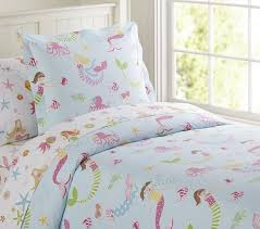 mermaid sheet set pottery barn kids