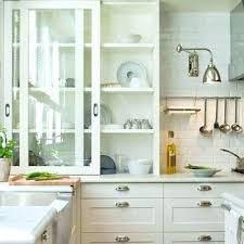 kitchen cabinet sliding doors basic types of cabinet doors functional and stylish in your