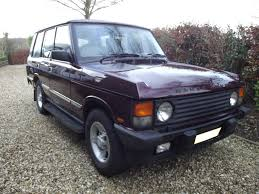 lifted range rover a 1994 land rover range rover classic registration number l950