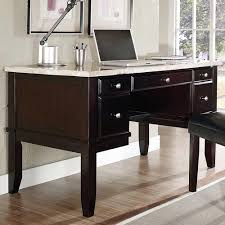 writing desk with drawers steve silver monarch 5 drawer writing desk with white marble top