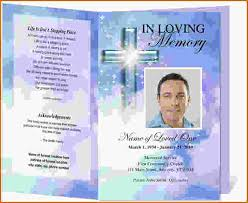 12 free printable funeral program template authorizationletters org