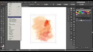 illustrator tutorial vectorize image adobe illustrator advanced watercolor vector youtube