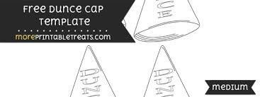 How To Make A Dunce Cap Out Of Paper - dunce hat template choice image templates design ideas dunce hat