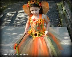 fall costume 4 pc set thanksgiving orange tutu dress