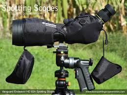 spotting scope window mount vanguard endeavor hd 82a spotting scope review