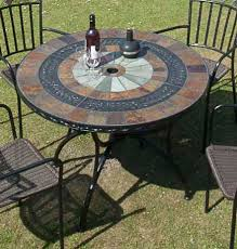 Mosaic Patio Furniture by Europa Alcira Mosaic Patio Table