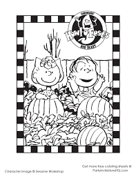 charlie brown halloween sheet u2013 festival collections