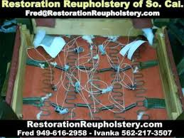Upholstery Orange County Restoration Reupholstery Orange County Ca Youtube