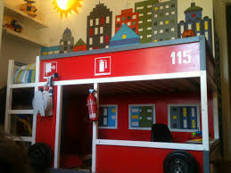Fire Truck Toddler Bed Step 2 Firefighter Bed Ana White Fire Station Loft Bed Diy Projects Best