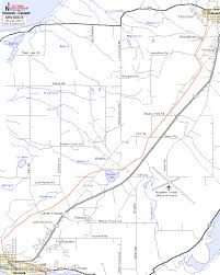 map of calumet michigan hancock to calumet atv orv ohv motorcycle road trail map