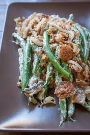 vegan gluten free paleo green bean casserole thanksgiving