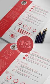 20 free cv resume templates u0026 psd mockups freebies graphic