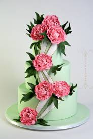 peony wedding cakes u2013 sugar couture specialty cakes