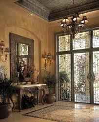 Mediterranean Wall Sconces Mediterranean Entryway With Wall Sconce U0026 Simple Marble Tile