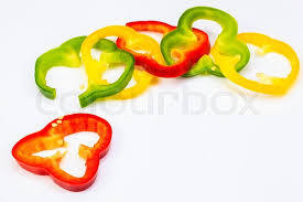 bell rings red images Red green yellow and bell pepper ringsred green yellow bell jpg