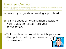 what questions do you get asked in a job interview long range career development unit 9 planning your future what