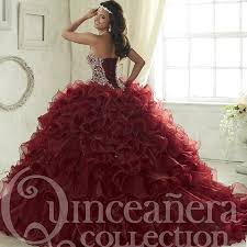 maroon quinceanera dresses maroon quinceanera dresses 2017 sweep tiered cascading ruffles