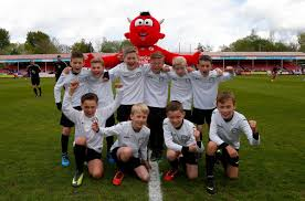 Flag Football Adults Flag Bearers And Player Escorts Crawley Town
