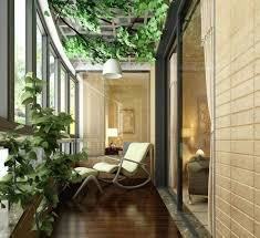 balkon liege balkon liege balkon pflanzen design garten gestalten statue holz